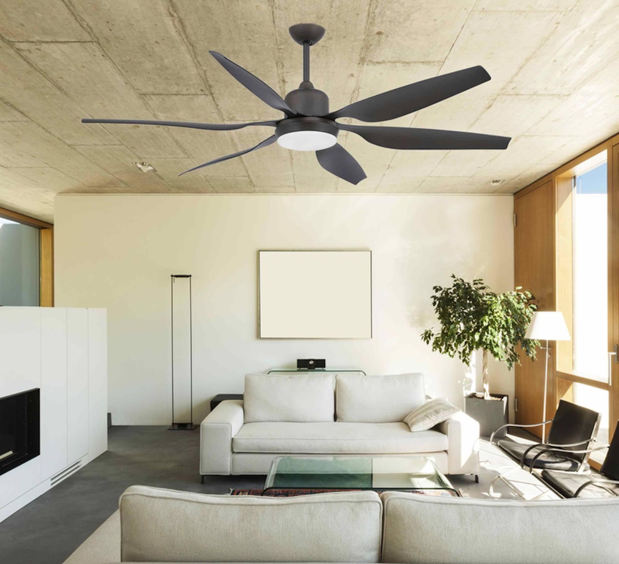 Les ventilateurs lumineux
